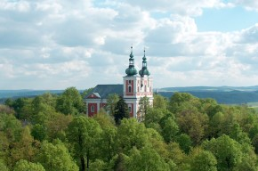 Die Wallfahrtskirche der siebenschmerzhaften Mutter Gottes