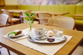 Speisezimmer mit Café