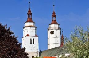 Der Turm der Kirche des Heiligen Martin