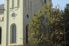 Der Turm der Synagoge