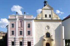 Die Kirche des Heiligen Geistes mit Spital