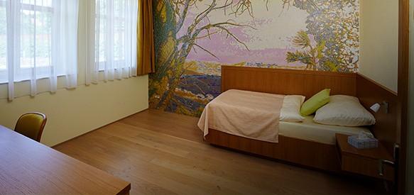 Barrierefreie Einzelzimmer